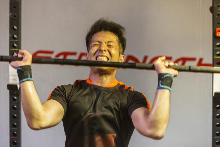 筋力重視なら重さを上げる