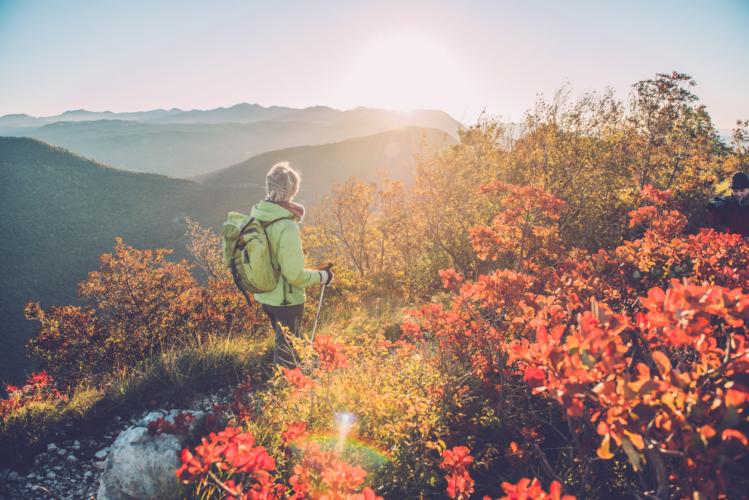 秋から冬に山登り!