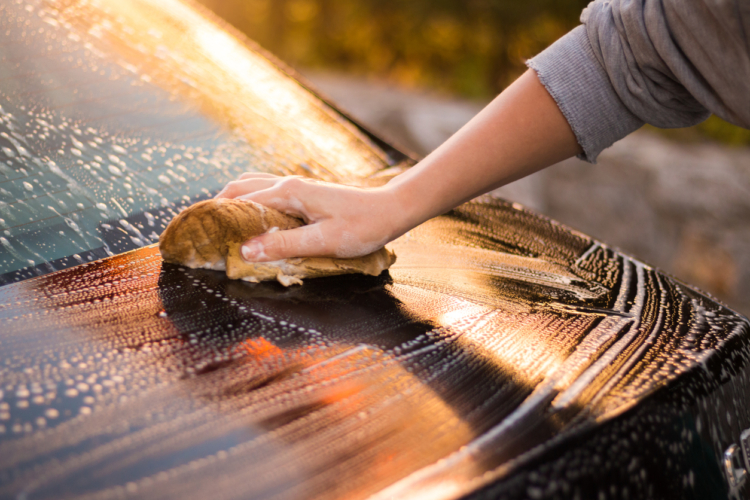 久しぶりの洗車!