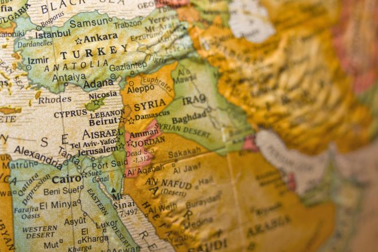 シリアの隣国関係
