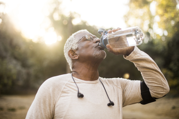 注意点3:水分補給を忘れない