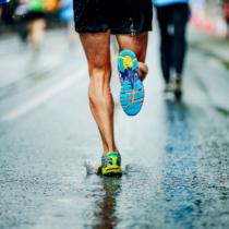 雨の中でもランニング・マラソン!