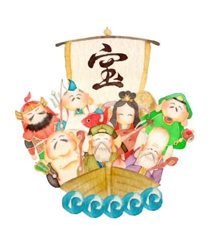 七福神のメンバー構成