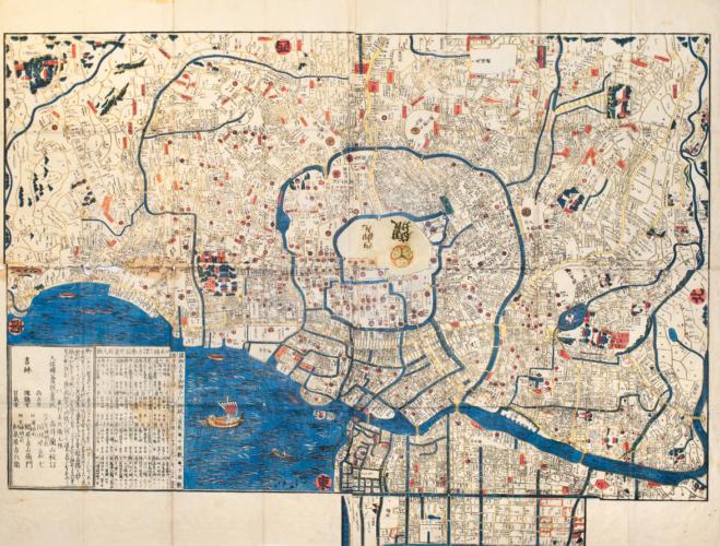 古地図でその土地の歴史に触れてみよう!