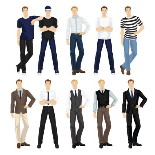 スーツ要素の入れ方、考え方は?
