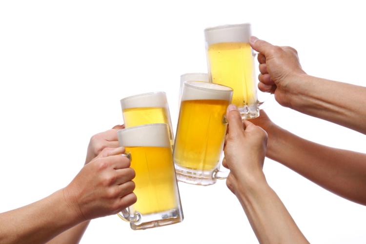 ランニングをビール中ジョッキに換算すると