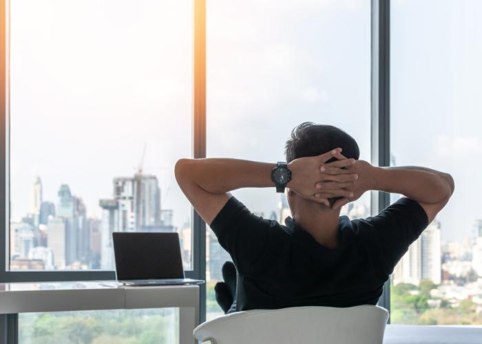 在宅だったら勤務中にプチ瞑想ができるではありませんか